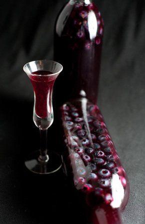 Λικέρ blueberry (μύρτιλο) | FoodRevolution.gr