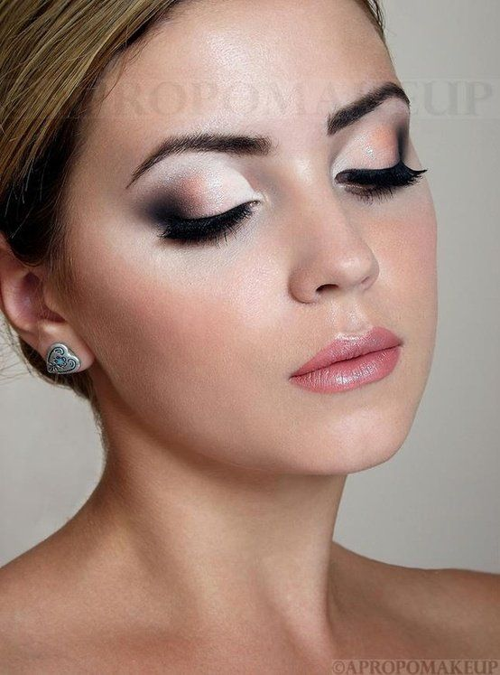 Wedding make up, bridal beauty for fair to medium skin tones.