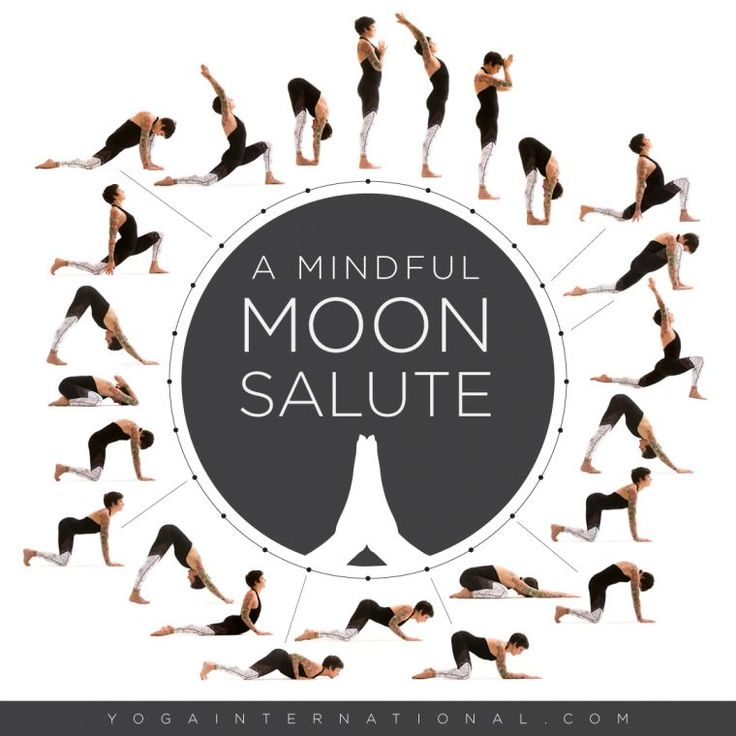 A Mindful Moon Salute
