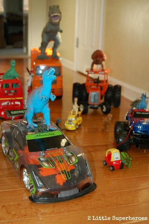 Have you heard of Dinovember yet? My boys love this way more than the Elf on the Shelf.