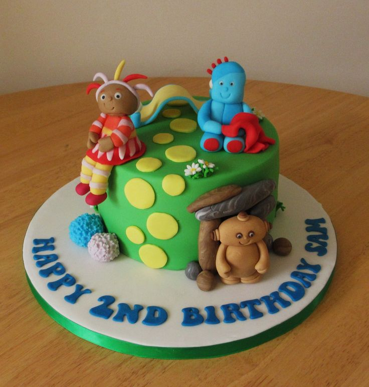 In the night garden cake with upsy daisy iggle piggle and for In the night garden cakes designs