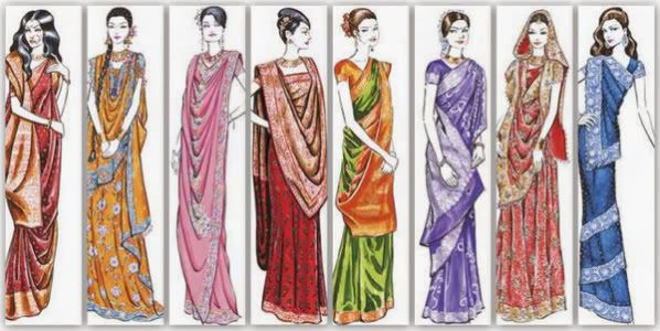 How to drape a saree, Wear Saree - Sakhi Beauty