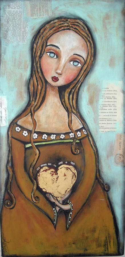 Heart of Gold Fine Art Print Patti Ballard