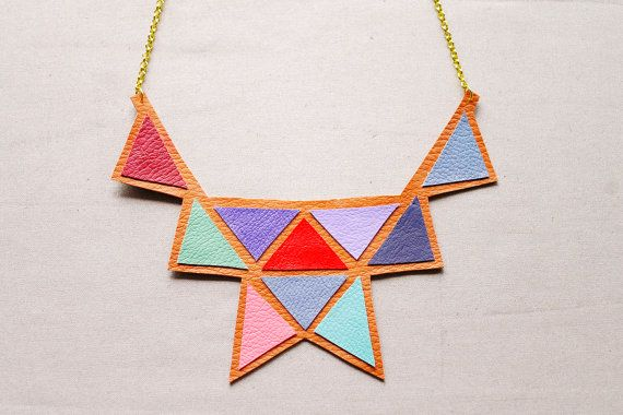 Bib Necklace by Ching
