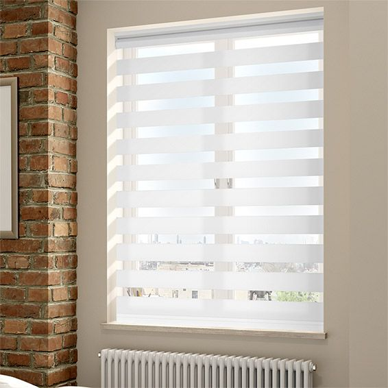 Enjoy Vision Soft White Roller Blind from Blinds 2go