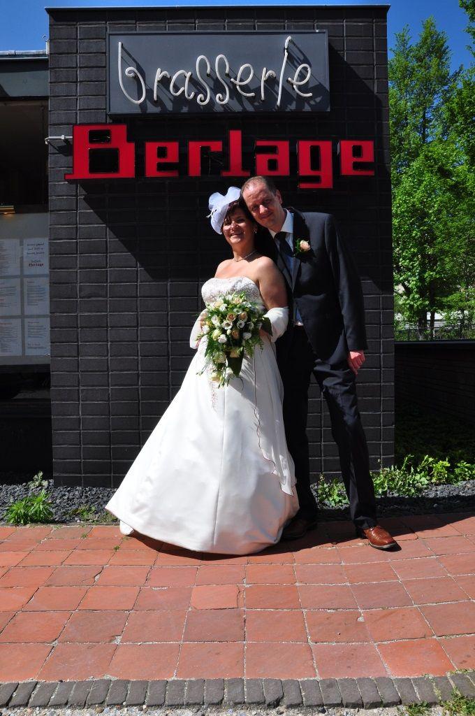 Fotoshoot @ Bruiloft Mike & Ingrid Perquin bij Brasserie Berlage