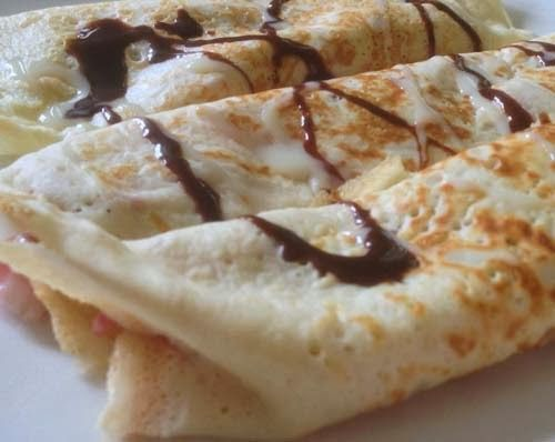 Simple Dessert #Crepes. Click For Recipe