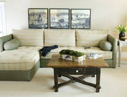 how to make a sectional from twin beds - Google Search