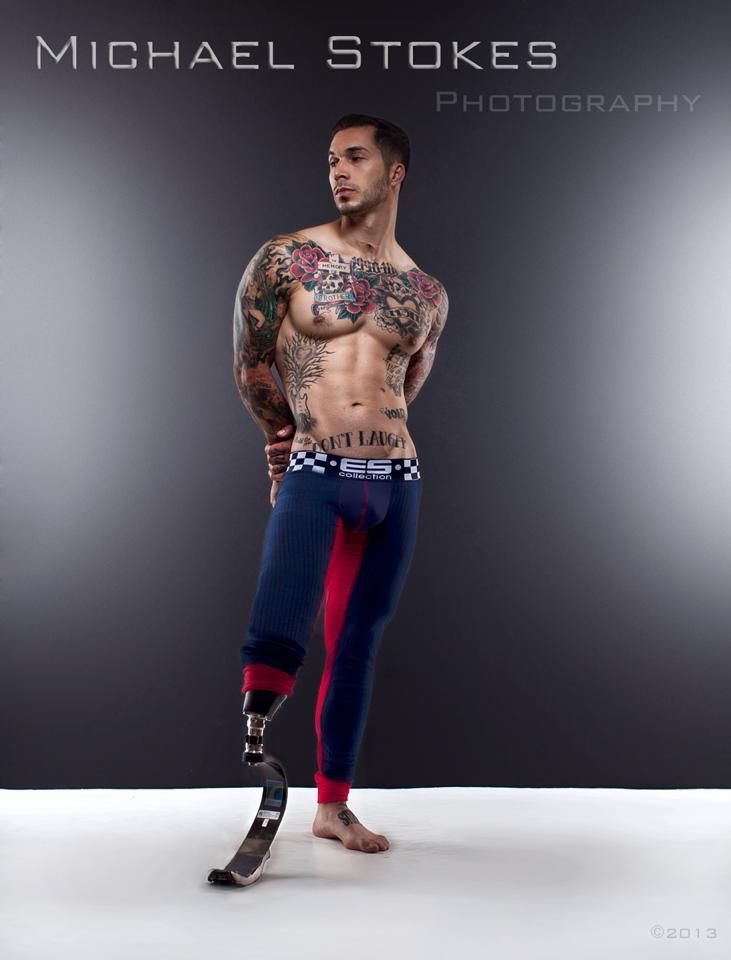 Marine wounded warrior Alex Minsky finds healing and meaning as a fitness model.  More here: http://video.foxnews.com/v/2500328140001/war-hero-heats-things-up-as-rising-underwear-fitness-model/