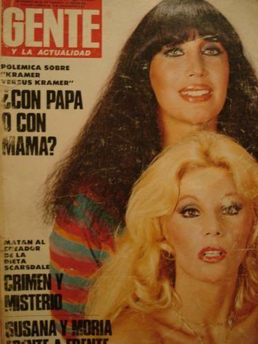 moria y susana!!! : primera tapa de la revista gente de moria con susana...principios del 80 | brutal_jorge