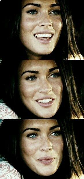 Megan Fox triptych.