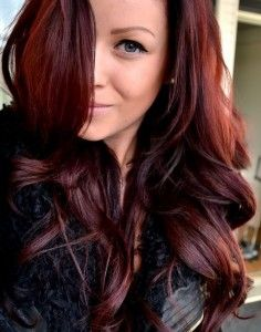 fall hair color trends 2013 ~~ I don't care for red in MY hair, but THIS color is really pretty. It helps that she's got great hair! :)