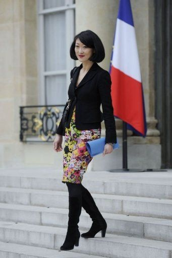 Fleur Pellerin, #Minister delegate, SME's, Innovation and the Digital Economy, #France! Very beautiful!