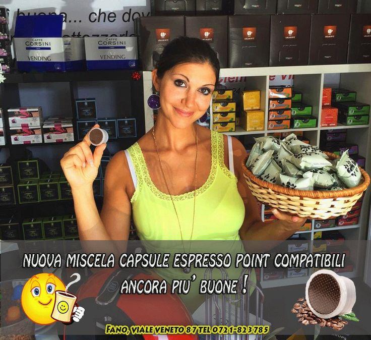 #Fano  Capsule & Coffee Viale Veneto 87 Tel 0721-823785  Specialisti del Caffè ;-)