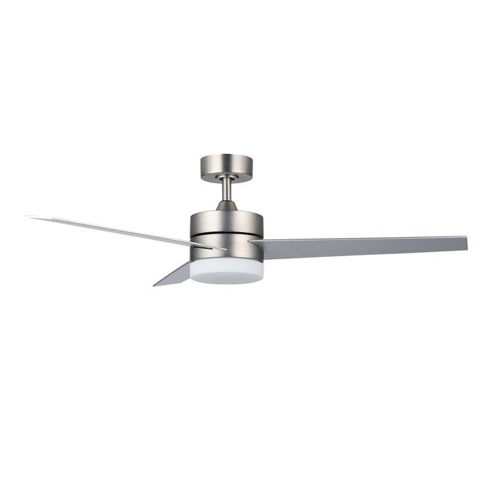 Foundstone 52 Minneota 3 Blade Led Ceiling Fan With Remote Light Kit Included Reviews Wayfair In 2020 Ceiling Fan Ceiling Fan With Remote Led Ceiling Fan