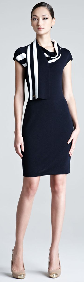Escada dress, perfect for #business lunches and meetings