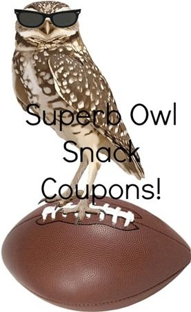 Superb Owl Snack Coupons!