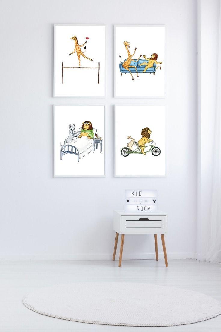 Viele Poster mit tollen Tiermotiven