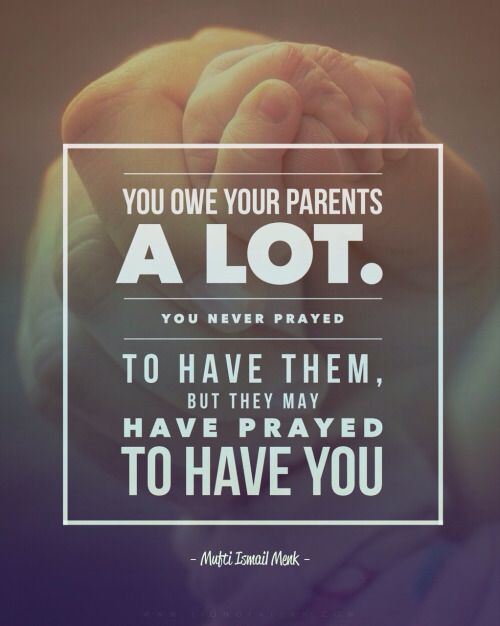 We have enjoined on man kindness to his parents: In pain did his mother bear him, and in pain did she give him birth. Surah Ahqaf | Verse 15 www.lionofAllah.com