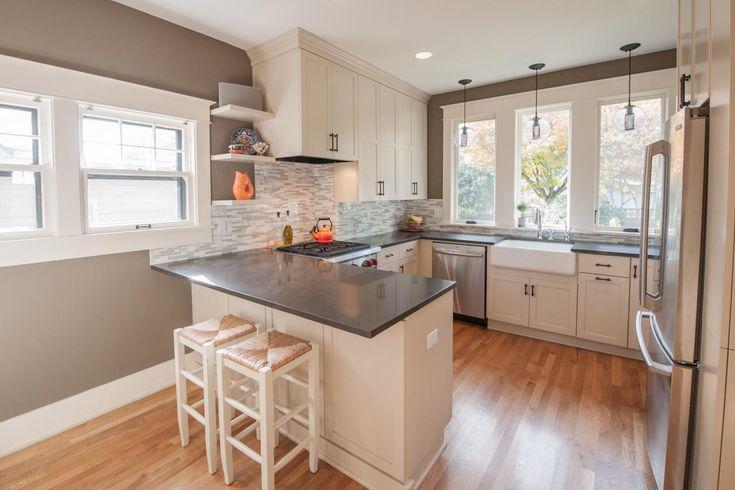 Archaicfair Kitchen Peninsula Ideas : Photos  Hgtv Kitchen Peninsula Design Ideas Kitchen Peninsula Ideas For Small Kitchens