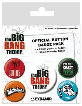 Placka The Big Bang Theory (Teorie velkého třesku) - Logo