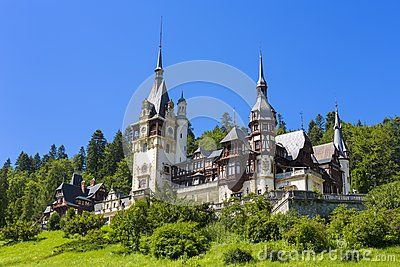 Peles castle, Sinaia, Romania. Given its historical and artistic value, Peles castle is one of the most important and beautiful monuments in Europe.
