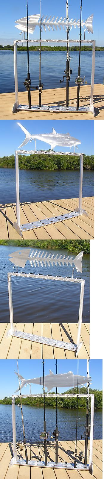 Rod Cases Tubes and Racks 81473: Fishing Rod Rack - Choose A Single Fish - Holds 16 Rods -> BUY IT NOW ONLY: $289 on eBay!