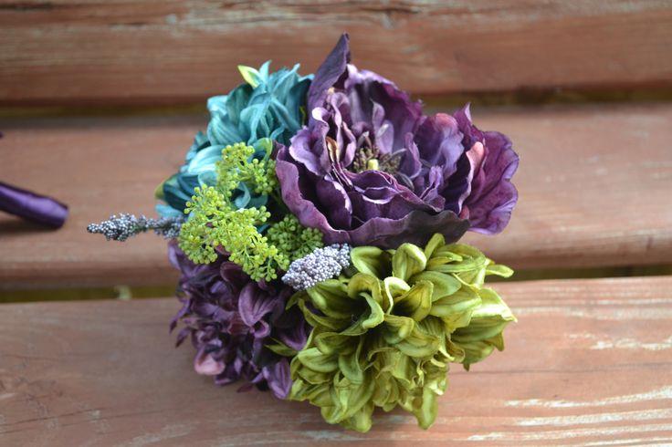 My Day Bouquet - Toss Bouquet or Petite Bridesmaid Bouquet