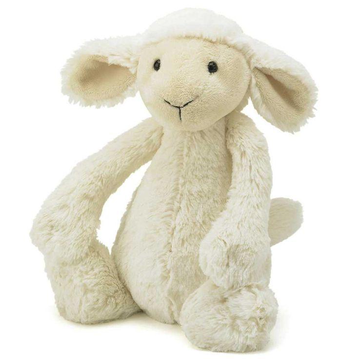 Jellycat Bashful Lamb Medium | JoJo Maman Bebe