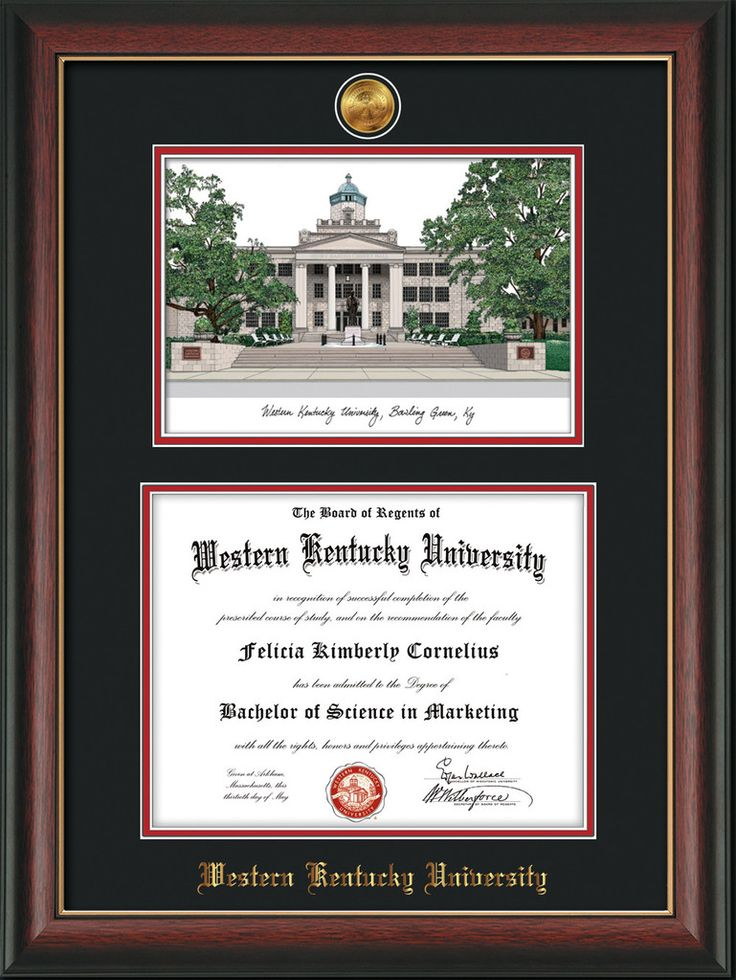 79 best Western Kentucky University Diploma Frames & Gifts! images ...