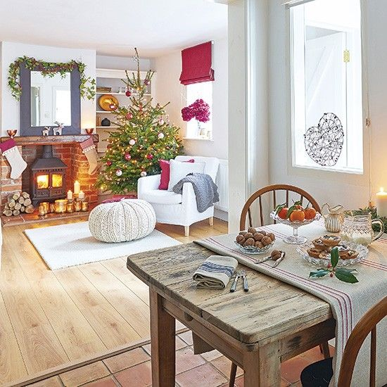 Step inside this festive coach house in North Yorkshire