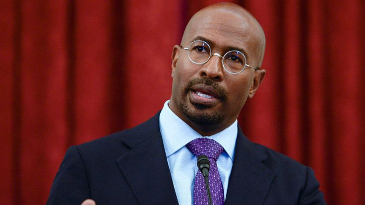 "2/28/17 Van Jones: ""For people who have been hoping that maybe he would remain a divisive cartoon, which he often finds a way to do, they should be a little bit worried tonight. Because that thing you just saw him do, if he finds a way to do that over and over again, he's going to be there for eight years."""