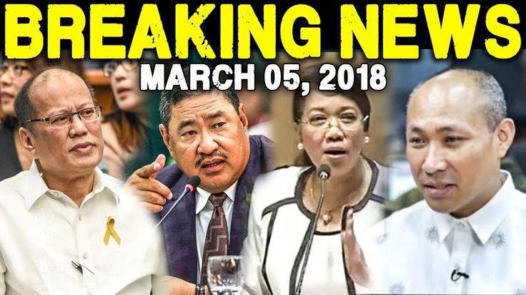 BREAKING NEWS TODAY MARCH 05 2018 PNOY AQUINO l REP REY UMALI l CJ SEREN...