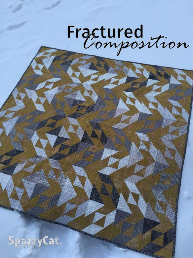 Fractured Composition Quilt   Moda Bake Shop   Bloglovin'