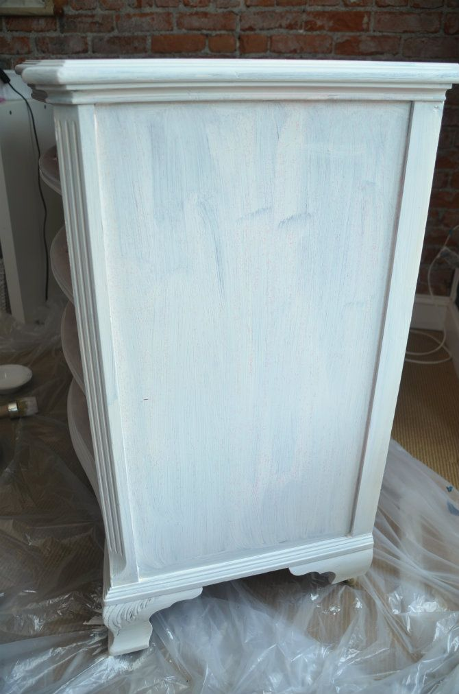 Two Toned Dresser Makeover Shellac Annie Sloan And