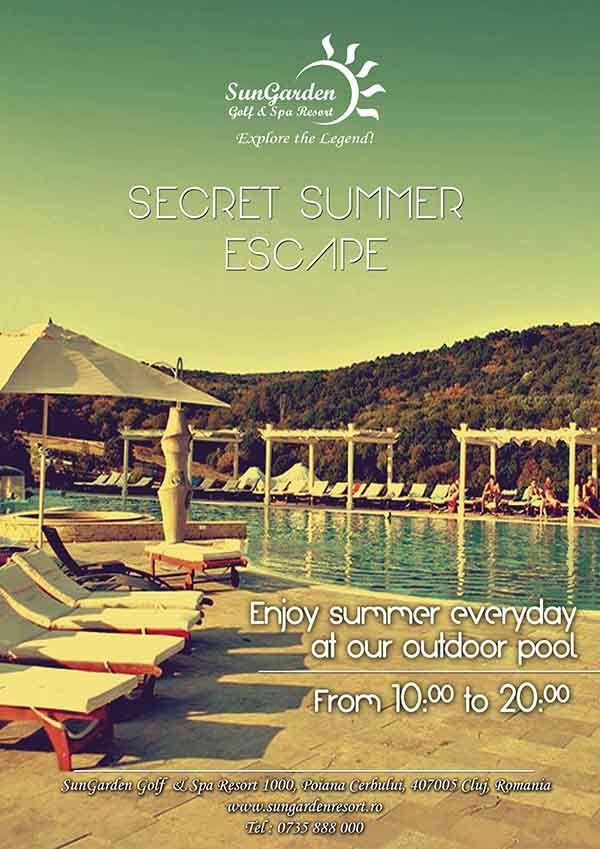 Secret Summer Pool Escape - Sun Garden Resort