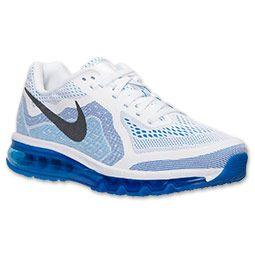 Men\u0027s Nike Air Max 2014 Running Shoes   FinishLine.com   White/Black/