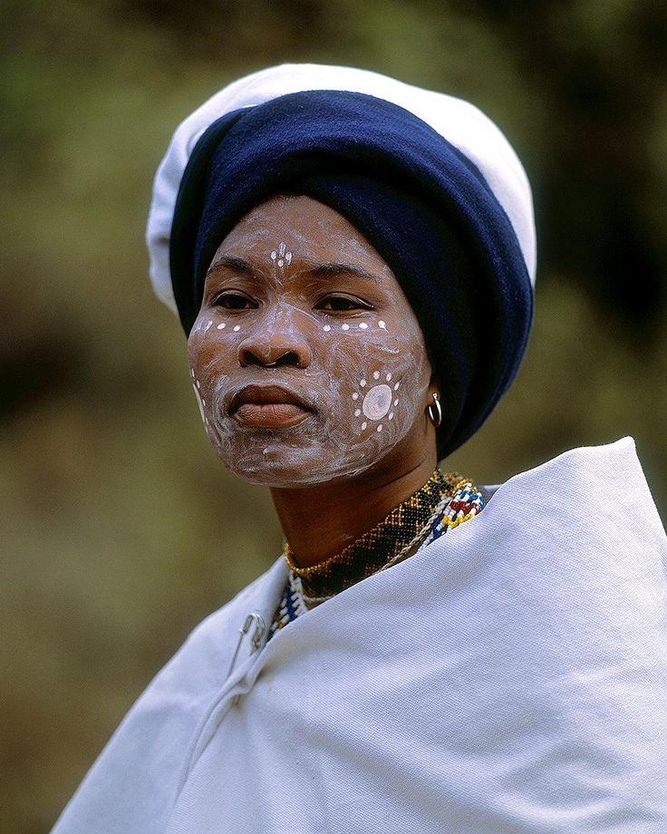 Xkhosa woman, South Africa