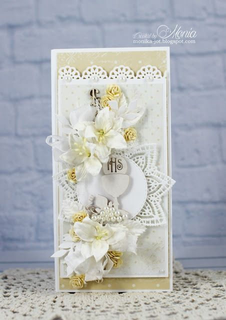 Wild Orchid Crafts: Communion card