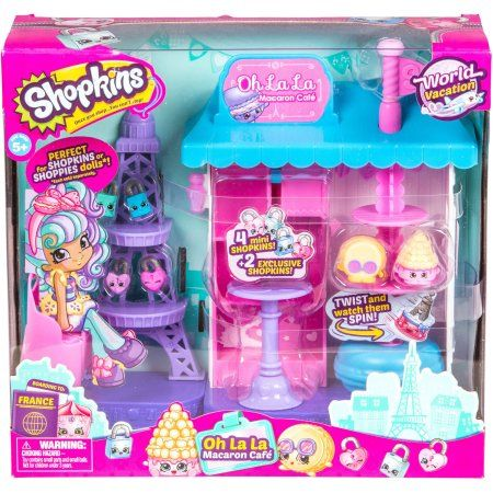 Shopkins Season 8 Paris Cafe Playset, Assorted