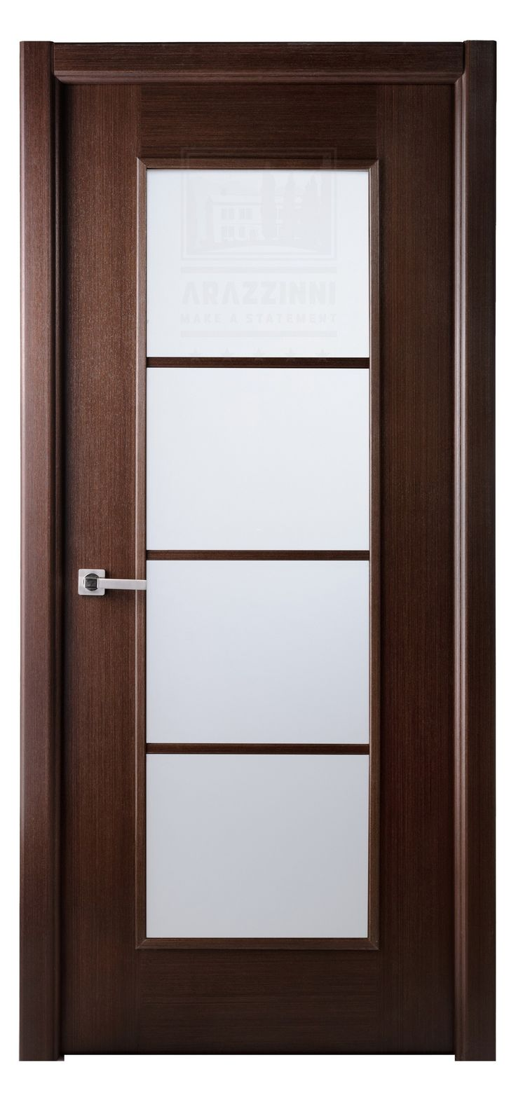 Modern wood door - Arazzinni Modern Lux Interior Door Wenge