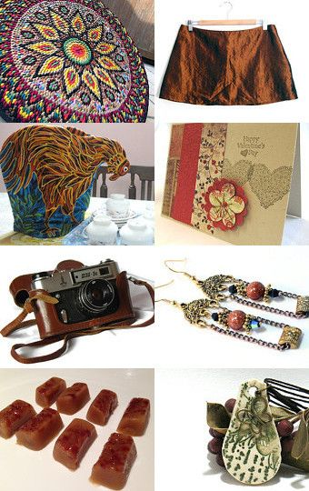 """Gorgeous Bronze"" Treasury by Natalie Thibault on Etsy SPS Team --Pinned with TreasuryPin.com"