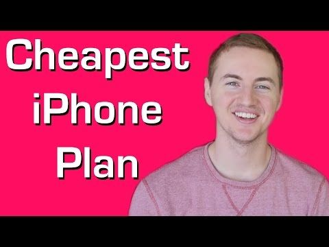 Cheapest iPhone Plan: Unlimited Everything for $30/Month! - YouTube