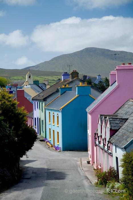all-things-british-and-irish:  Eyeries village, Beara Peninsula, Co Cork, Ireland