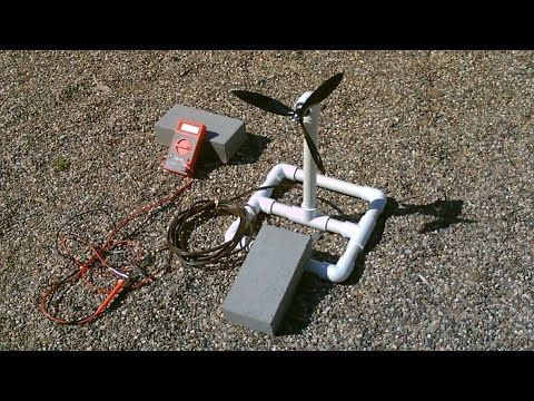 Simple DIY Video : Make a Homemade Wind Turbine Generator . Runs Radios and small lights. - Page 2 of 2 - Practical Survivalist