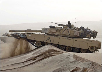 M-1 Abrams...not just your average tank