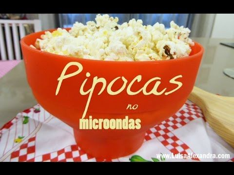 Pipocas no Microondas • Lékué [Mimocook] – Luísa Alexandra
