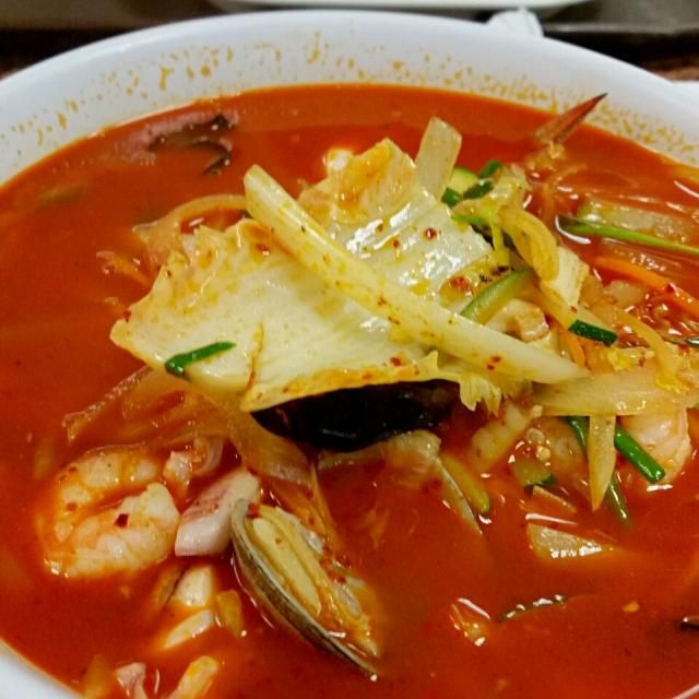 spicy seafood noodle soup - 85件のもぐもぐ - 짬뽕 by Juliee ~ ジュリー