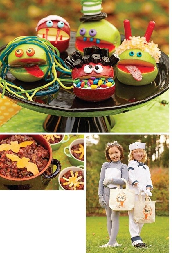 Mrs Prindables Halloween Apples