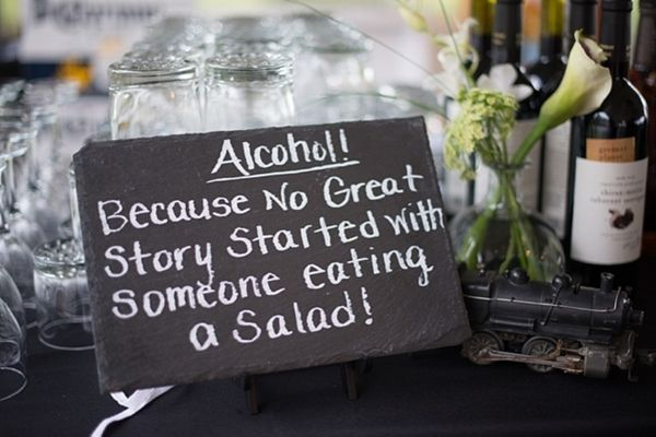 Vintage Bride ~ Bottoms up! Because no great story started with someone eating a salad!! ~ [vintagebridemag.com.au] ~ #vintagebride #vintagewedding #vintagebridemagazine